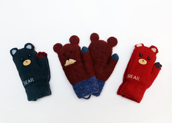BABY WOOLEN GLOVES - 21867