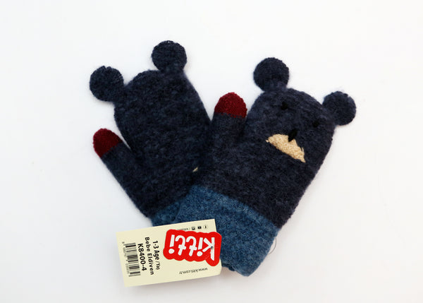 BABY BOY WOOLEN GLOVES - 21867
