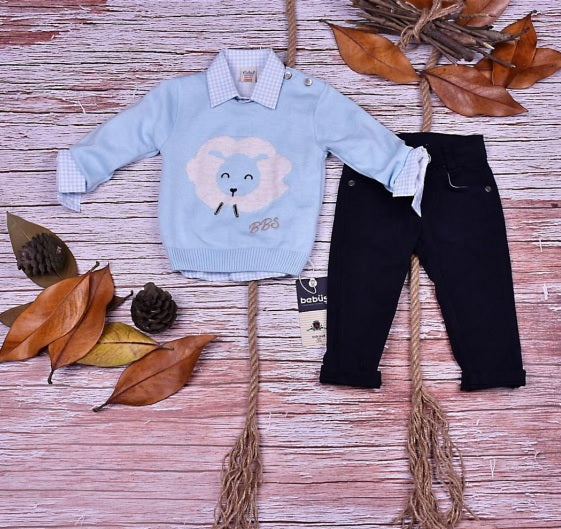 BABY BOY 3 PCS OUTFIT - 22409