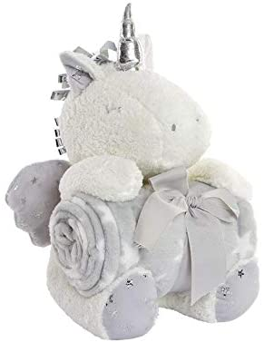 PLUSH TOYS AND ROLLED BLANKET GIFT SET 2PC - 22885