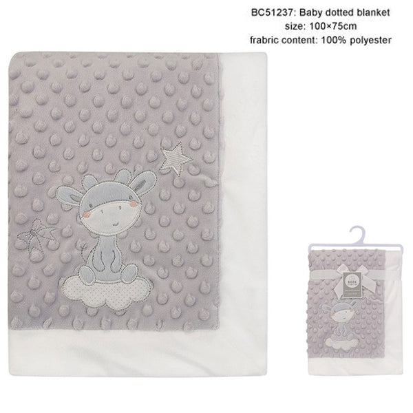 BABY DOTTED BLANKET - 22889