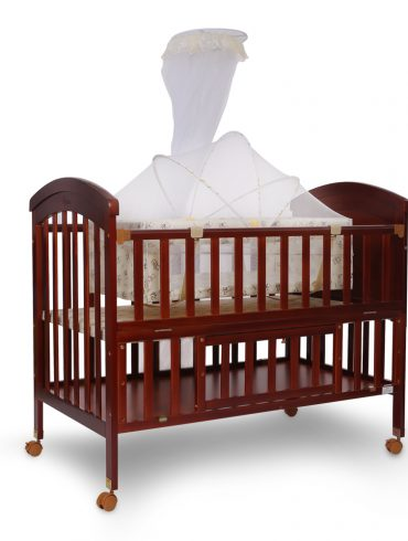 BABY COT BROWN - 22963
