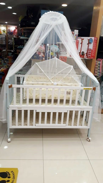 BABY COT WOOD DLX - 22965