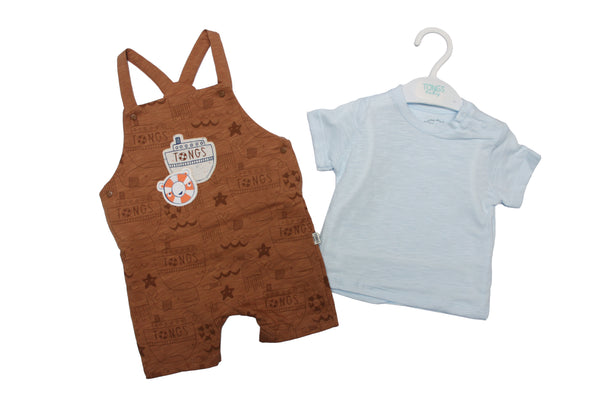 BABY BOY DANGRI OUTFIT - 23536
