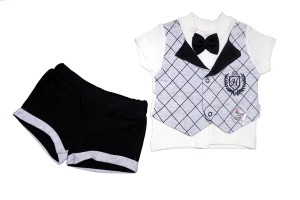 BABY BOY GENTLEMAN OUTFIT - 23607