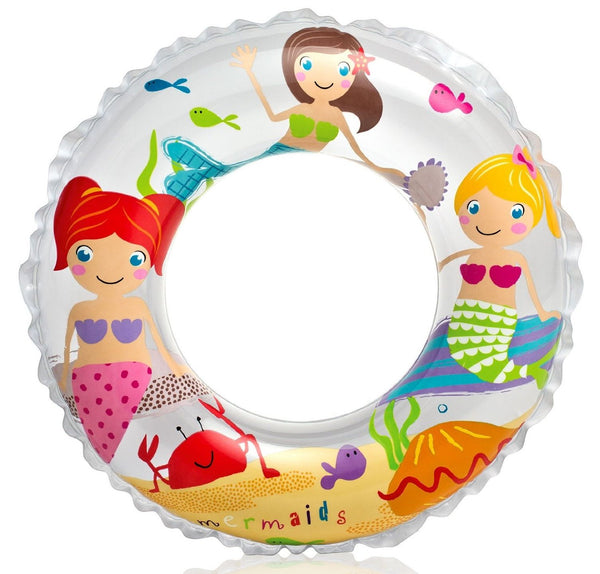 INTEX Transparent Swim Ring - 59242