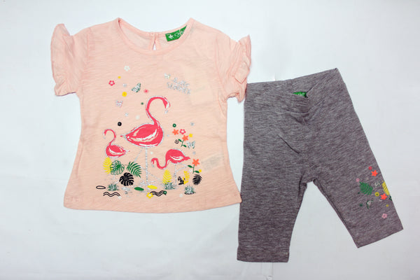 BABY GIRL OUTFIT ANIMALS - 24003