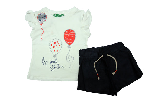 GIRL OUTFIT SWEET BALLOONS - 24004