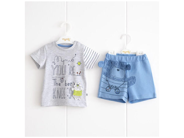 BABY BOY OUTFIT BEAR - 23662