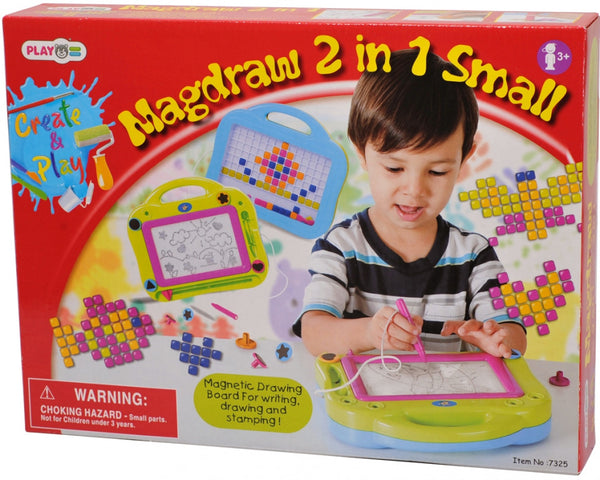 MAGDRAW 2 IN 1 SMALL - 7 PCS -7325