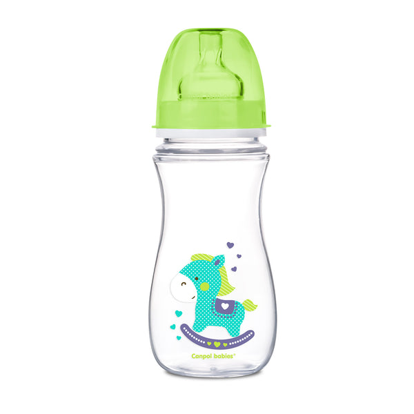 300 ml wide neck anti colic bottle EasyStart - Colourful animals - 35/204