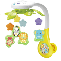 WF ANIMAL FRIENDS MUSICAL MOBILE - 0854
