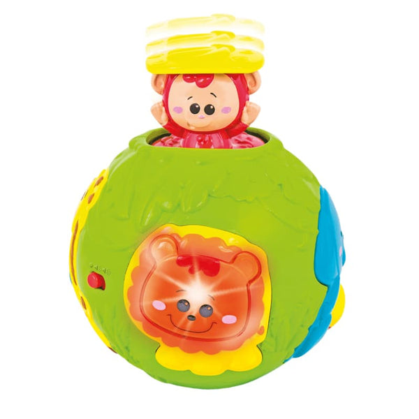 Roll 'N Pop Jungle Activity Ball-0778