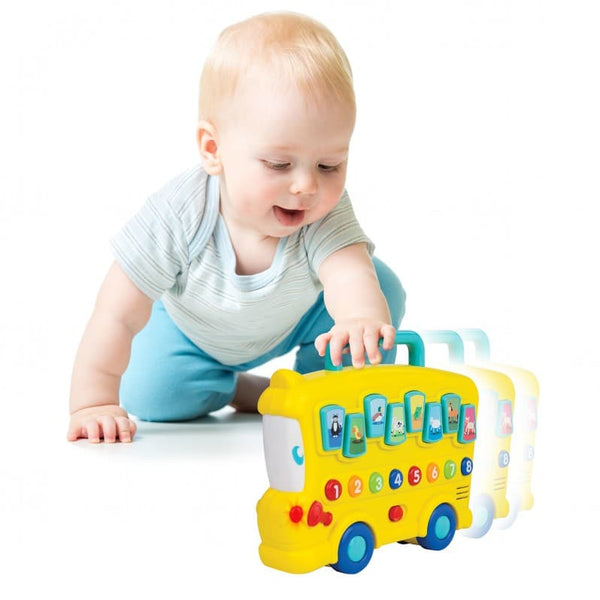 WINFUN ANIMAL SOUNDS BUS - 0676