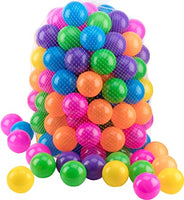 PLASTIC BALLS - PACK OF 50 - 19201