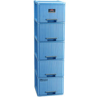 AXIS 5 DRAWER-PLATINUM BLUE - XC-30