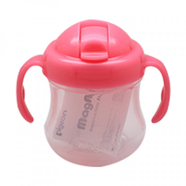 PIGEON MAG MAG STRAW CUP (PINK) - D166