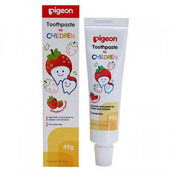 CHILDREN TOOTHPASTE, STRAWBERRY - H855