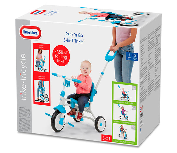 LT LERN TO PEDAL 3IN1 TRICYCLE - 634031