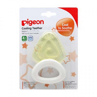 PIGEON COOLING TEETHER TRIANGLE YELLOW - N622