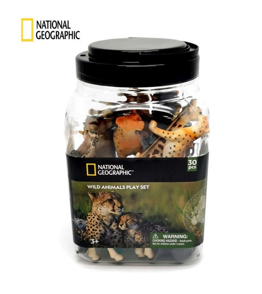 National Geographic 30 pcs Set Wild Animals - NCD02001