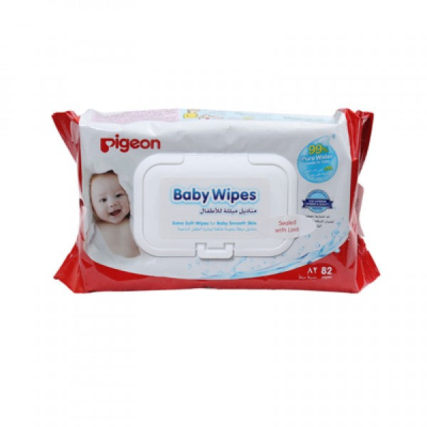 BABY WIPES 99% WATER (ARB) 82S, FLIP TOP - P387