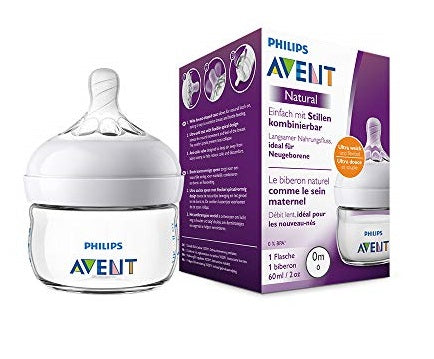 Natural II PP 60ml Feeding Bottle PK1 - SCF039/17