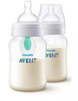 Anti-Colic Bottle PP 9OZ 2PK (Kepler) - SCF813/24