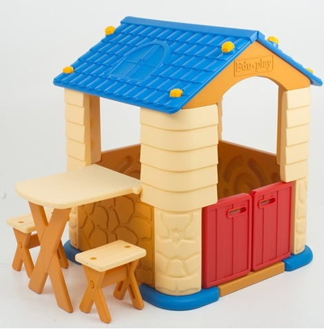 Edu Play - Playhouse with Table & Chair Set - TB7226