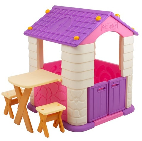 Edu Play - Playhouse with Table And Chair Set - PH-TB7226V