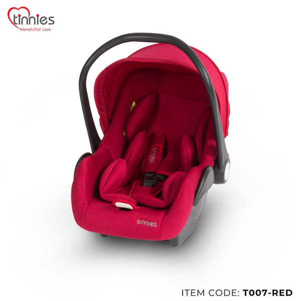 TINNIES BABY CARRY COT RED - T007