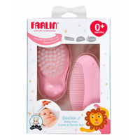 FARLIN BABY COMB & BRUSH SET BF-150A