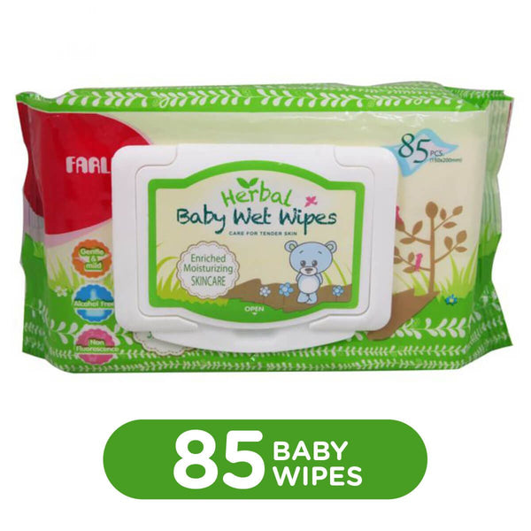 FARLIN BABY HERBAL SKINCARE WET WIPES REFILL 85PCS - DT-006D