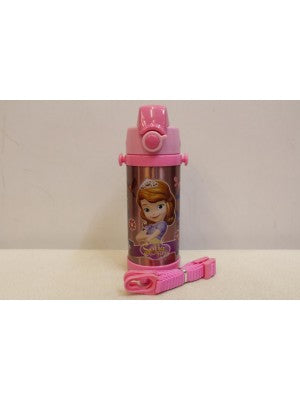 Sofia pink Thermal Metallic Water Bottle