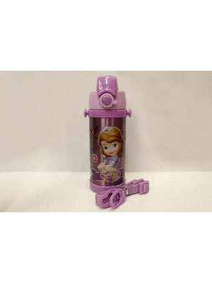 Sofia purple Thermal Metallic Water Bottle - G500