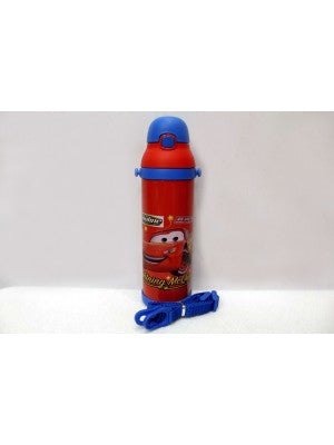 Car Red Thermal Metallic Water Bottle