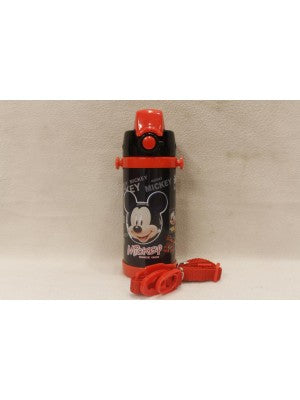 Mickey mouse black Thermal Metallic Water Bottle