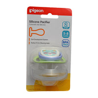 PIGEON SILICONE PACIFIER STEP 2 (GREEN) - N13692