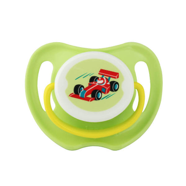 PIGEON PACIFIER (M) - RACE CAR - N26053