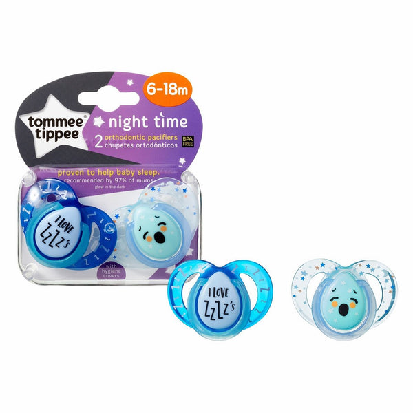 Closer to Nature Night Time Pacifier, 6-18 Months - 433374/38