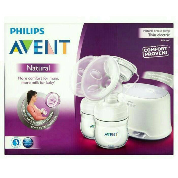 NATURAL DOUBLE ELECTRIC BREAST PUMP - SCF334/02