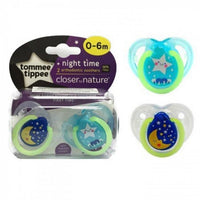 TT 433372 -Pack Of 2 NIGHT TIME SOOTHER 0-6M