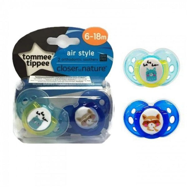 TT 433378 -Pack Of 2 AIR SOOTHER 6-18M