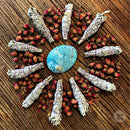 White Sage Smudge Stick (10-12cm) - Certified Organic