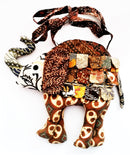 Patchwork Elephant Shoulder bag