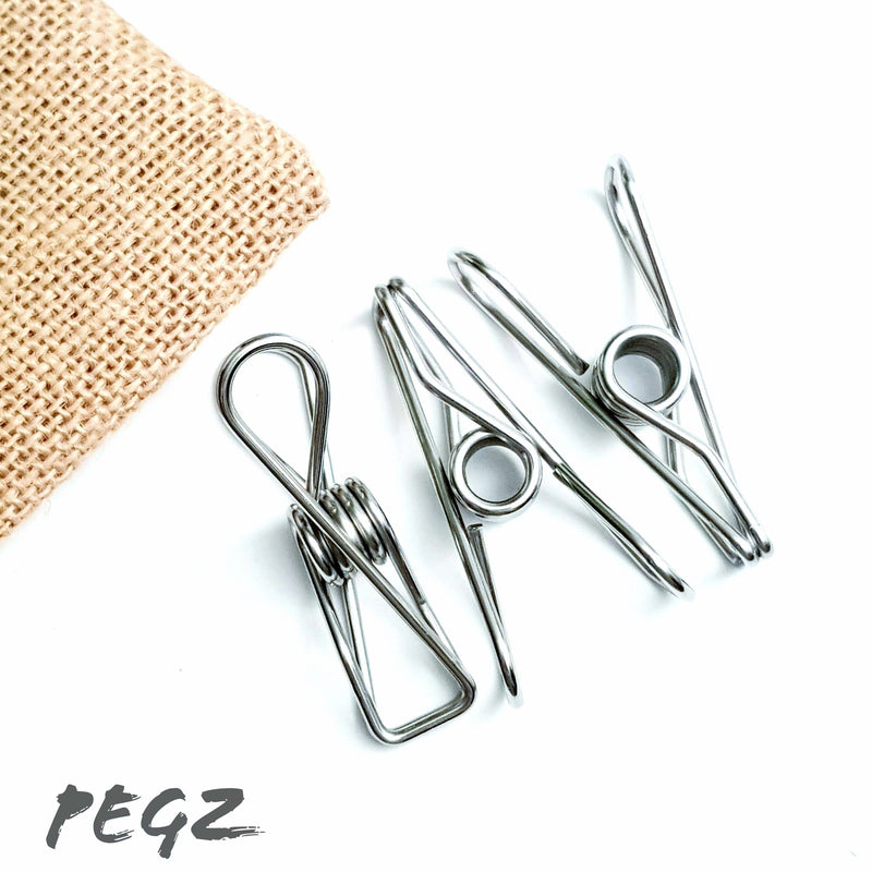 PEGZ Grade 201 Wire Pegs Standard - Pack of 30