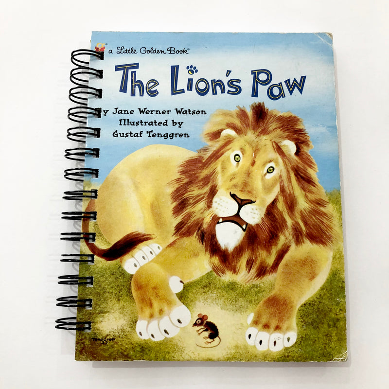 The Lions Paw - Note Book