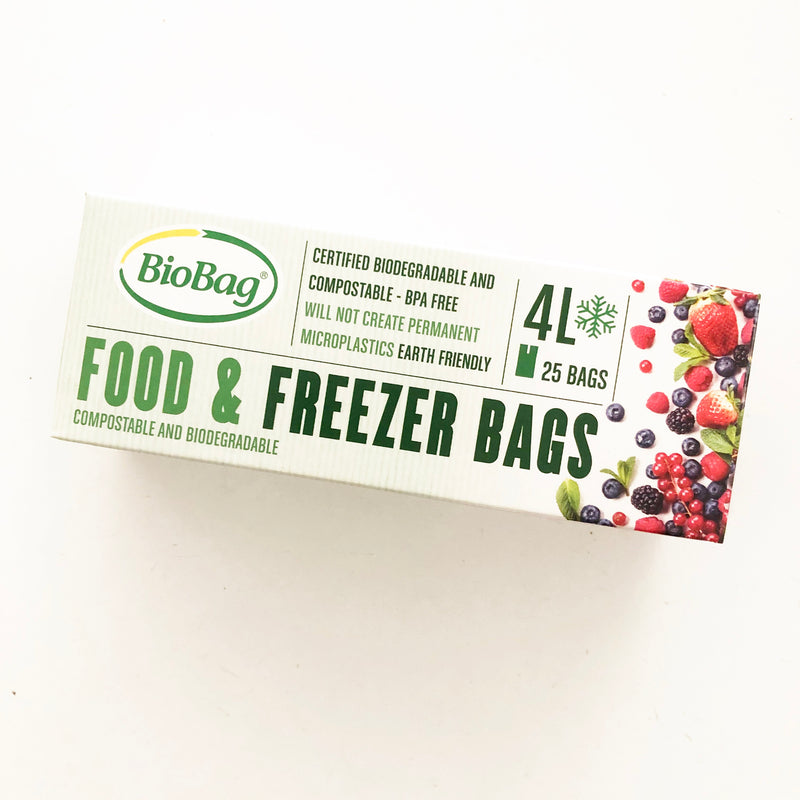 Freezer Bags - 4L pack of 25