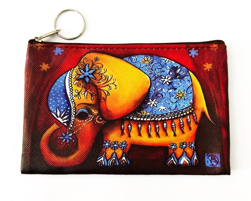 Elephant Coin Purse - Red