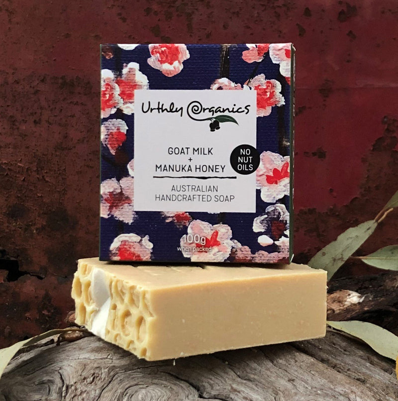 Goat Milk + Manuka Honey soap bar 100g